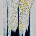 Abstract Drypoint