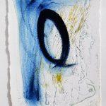 Blue Loop Drypoint
